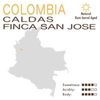 Colombia – Caldas Finca San José (Natural – Rum Barrel Aged)