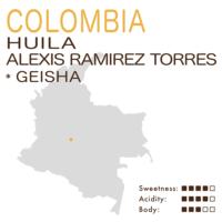 哥伦比亚 – 薇拉 – 亚历西斯 拉米雷斯 托雷斯庄园 (日晒) – 瑰夏 (艺妓) (小批量)