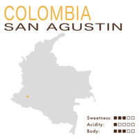 Colombia – San Agustin (Washed)