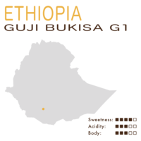 Ethiopia – Sidamo Guji Bukisa Genet G1 (Natural)