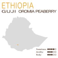埃塞俄比亚 – 西达摩 – 古吉 – 奥罗米亚 – 圆豆 (日晒)