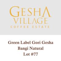 Gesha Village Bangi Lot#77 Green Label (Natural) – Geisha
