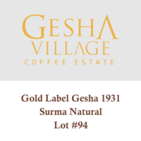 Gesha Village Surma Lot#94 Gold Label (Natural) – Geisha