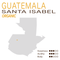Guatemala – Santa Isabel – Organic (Honey)