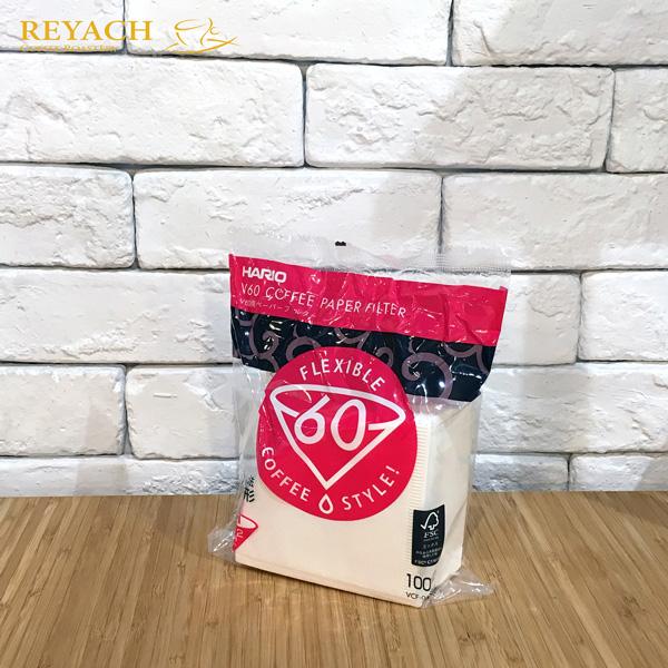 Hario V60滴漏式咖啡過濾紙 01號100張