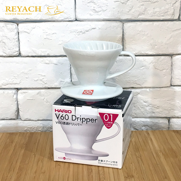 Hario V60 1號 手沖咖啡過濾杯滴漏式陶瓷滴濾杯